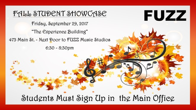 FALL SHOWCASE
