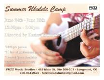 Summer Ukulele Camp 2019